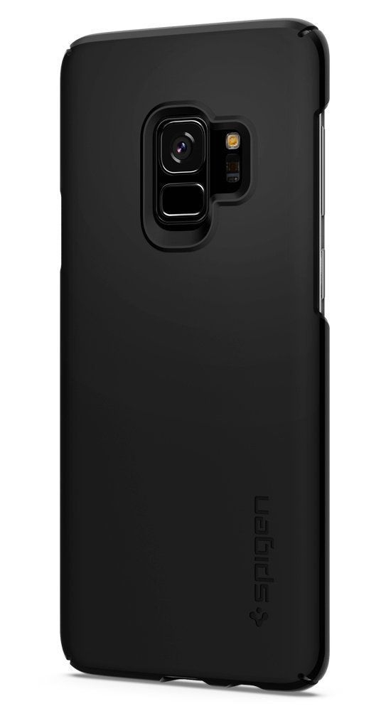 spigen thin fit samsung galaxy s9 black - spigen 8809565305047 1