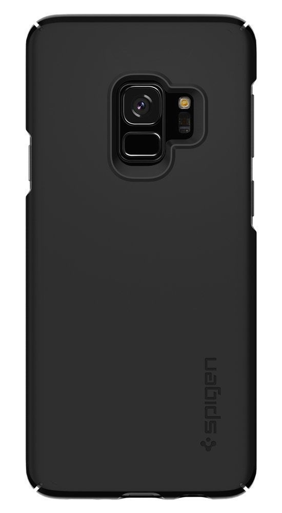 spigen thin fit samsung galaxy s9 black - spigen 8809565305047 6