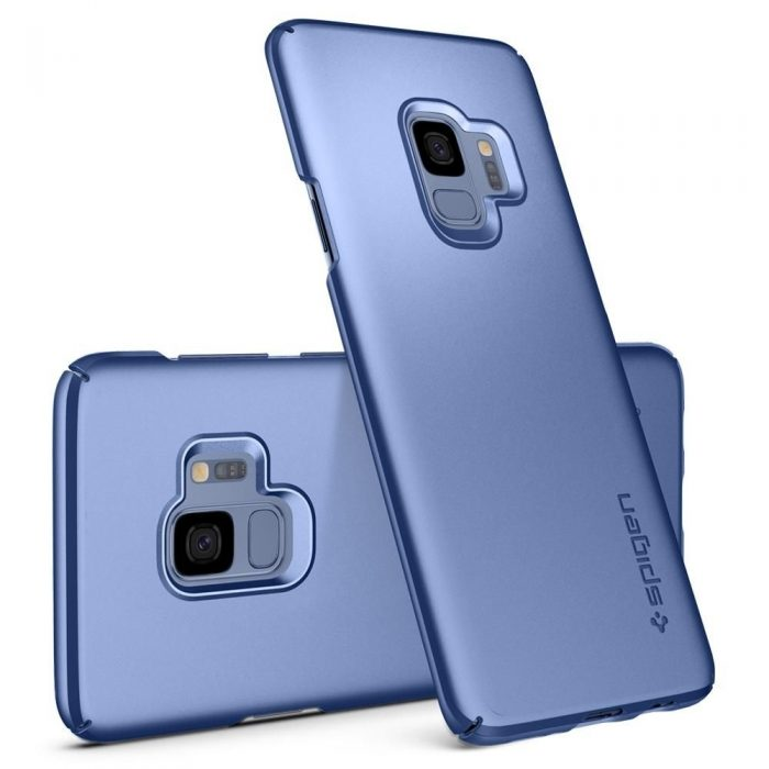 spigen thin fit samsung galaxy s9 coral blue - spigen 8809565305054 2 1