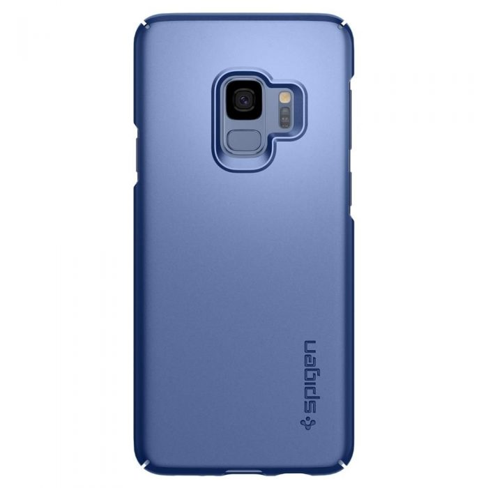 spigen thin fit samsung galaxy s9 coral blue - spigen 8809565305054 6 1