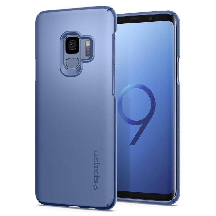 spigen thin fit samsung galaxy s9 coral blue - spigen 8809565305054 8