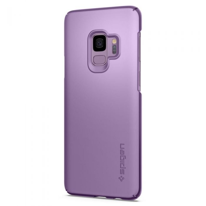 spigen thin fit samsung galaxy s9 lilac purple - spigen 8809565305078 1 1
