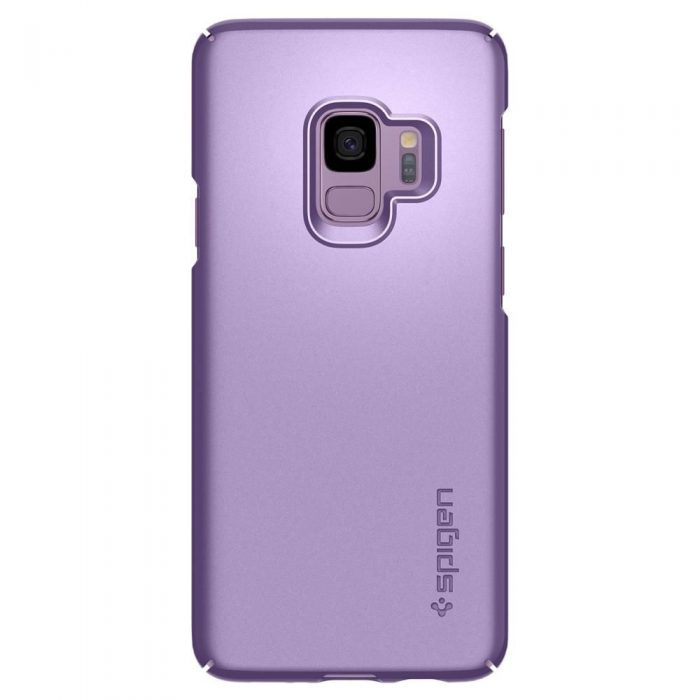 spigen thin fit samsung galaxy s9 lilac purple - spigen 8809565305078 6 1