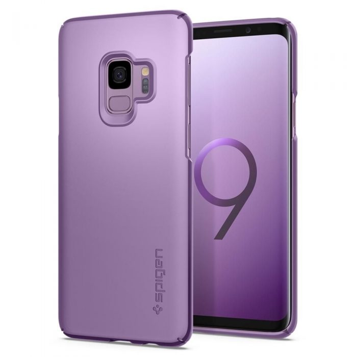 spigen thin fit samsung galaxy s9 lilac purple - spigen 8809565305078 8