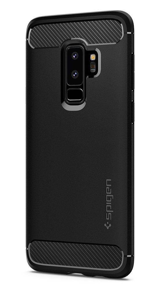 spigen rugged armor samsung galaxy s9 plus black - spigen 8809565306044 1 1