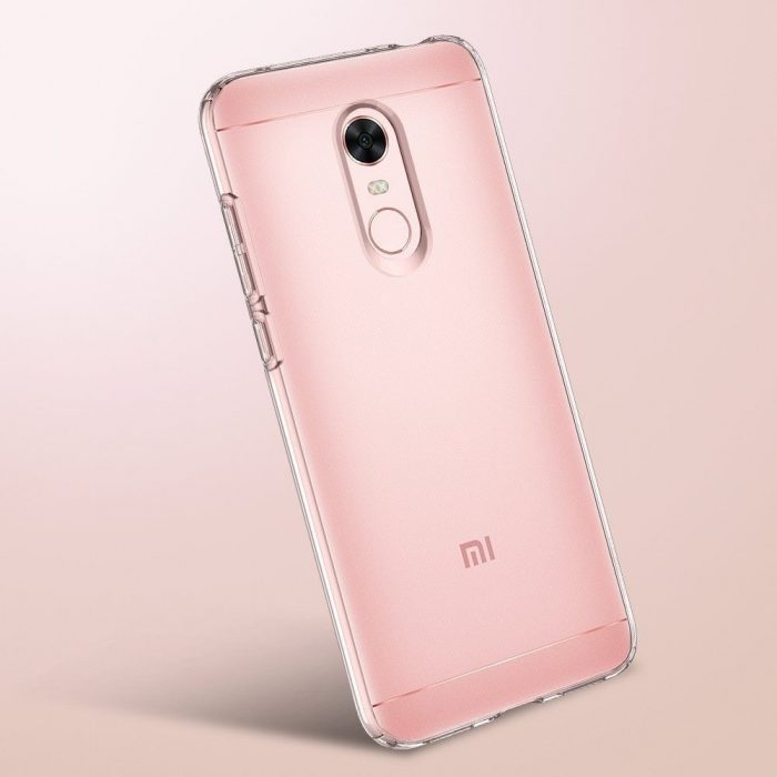 spigen liquid crystal xiaomi redmi 5 plus clear - spigen 8809565308215 5 1