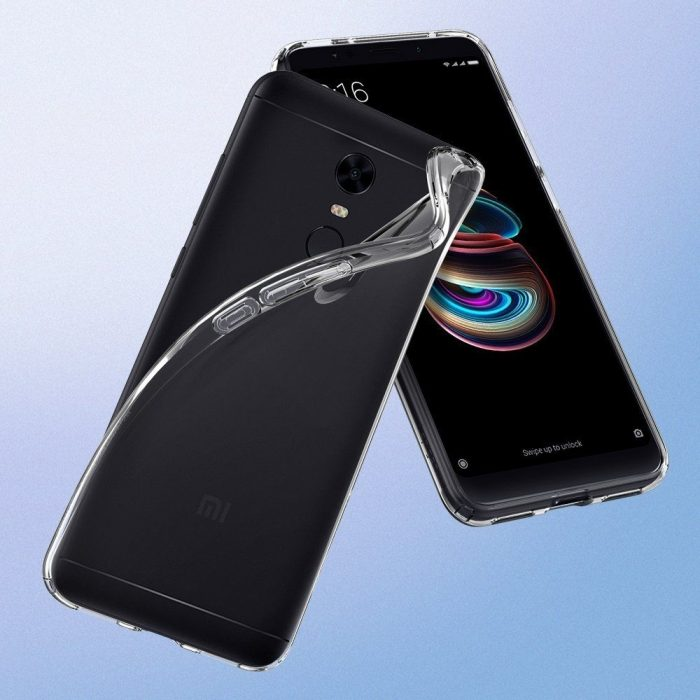 spigen liquid crystal xiaomi redmi 5 plus clear - spigen 8809565308215 6 1