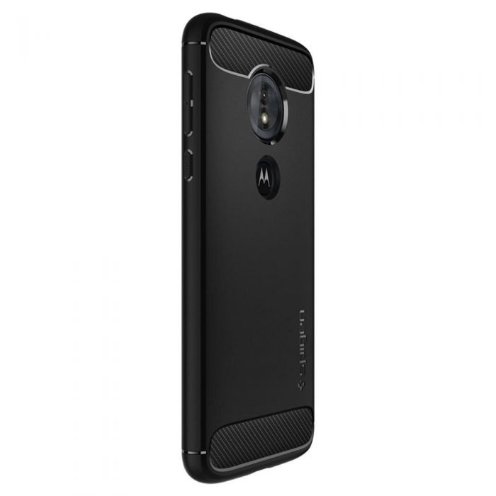 spigen rugged armor motorola moto g6 play black - spigen 8809606429657 4 1