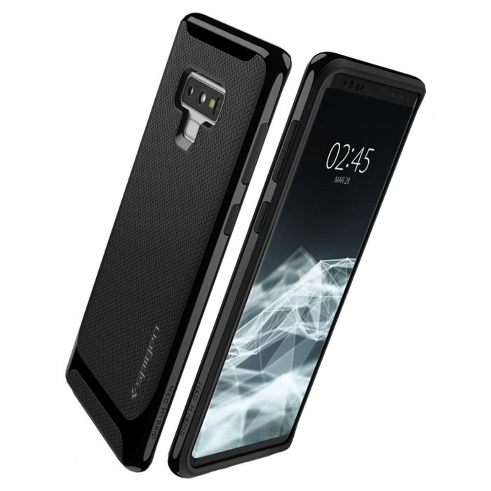 spigen neo hybrid samsung galaxy note 9 midnight black - spigen 8809613761412 1 1