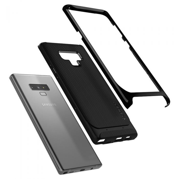 spigen neo hybrid samsung galaxy note 9 midnight black - spigen 8809613761412 2 1