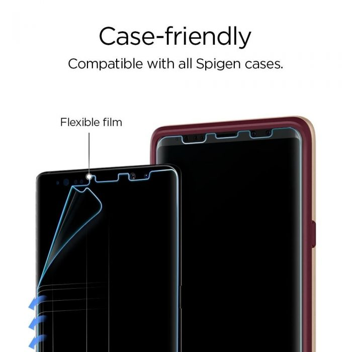 spigen neo flex hd samsung galaxy note 9 - spigen 8809613762921 6 1