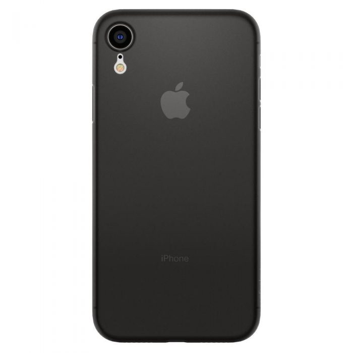 spigen airskin apple iphone xr black - spigen 8809613763911 2