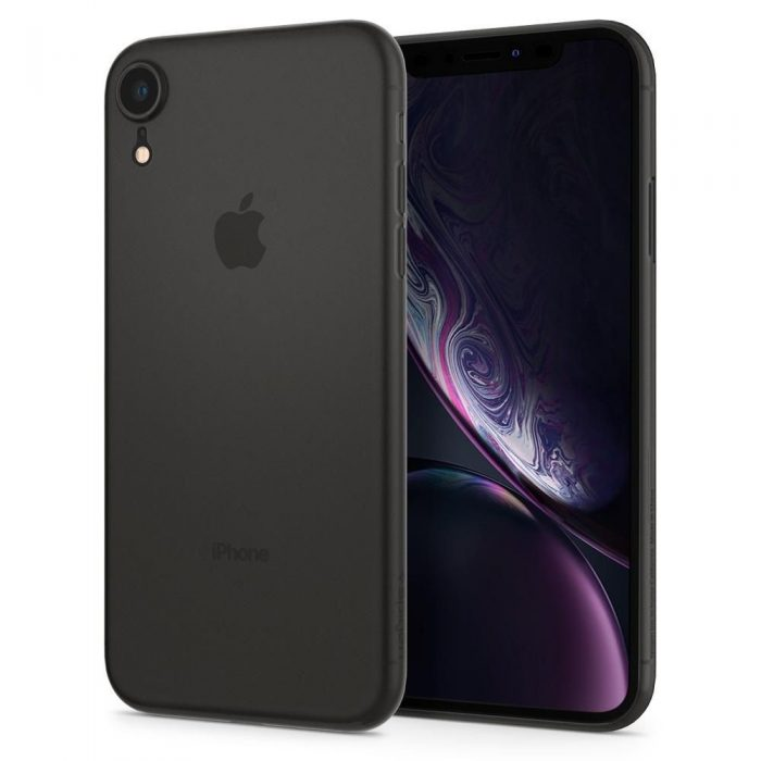 spigen airskin apple iphone xr black - spigen 8809613763911