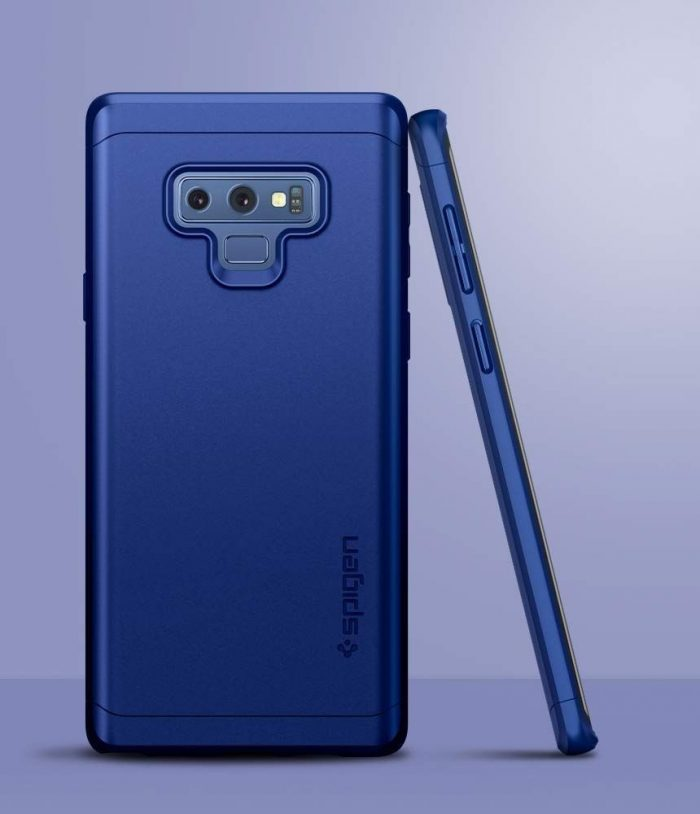 spigen thin fit 360 galaxy note 9 ocean blue - spigen 8809613765519 2 1