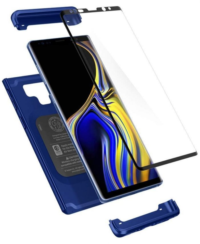 spigen thin fit 360 galaxy note 9 ocean blue - spigen 8809613765519 7 1