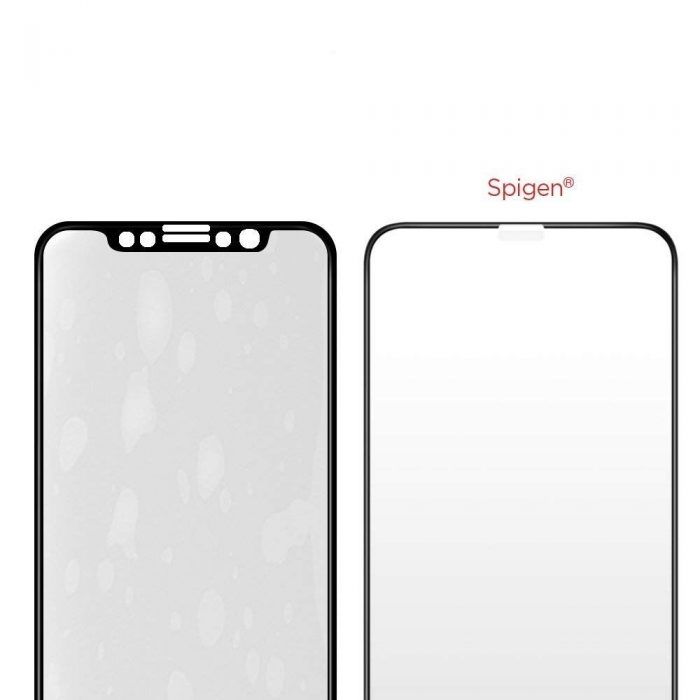 spigen glas.tr tc 3d full cover case friendly iphone 11 pro max/xs max - spigen 8809613767254 4