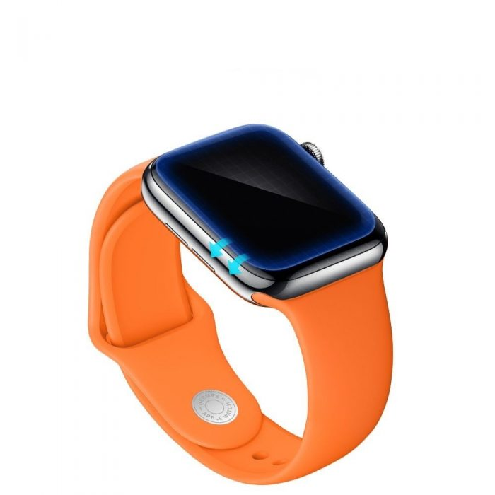 spigen neo flex hd apple watch 5/4 (44mm) - spigen 8809640250194 4
