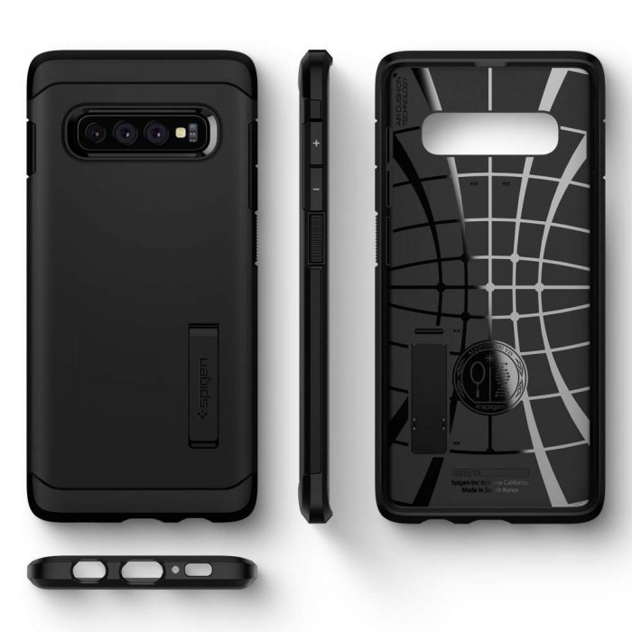 spigen tough armor samsung galaxy s10 black - spigen 8809640252327 3 1
