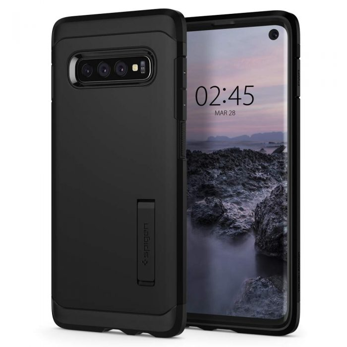 spigen tough armor samsung galaxy s10 black - spigen 8809640252327 7
