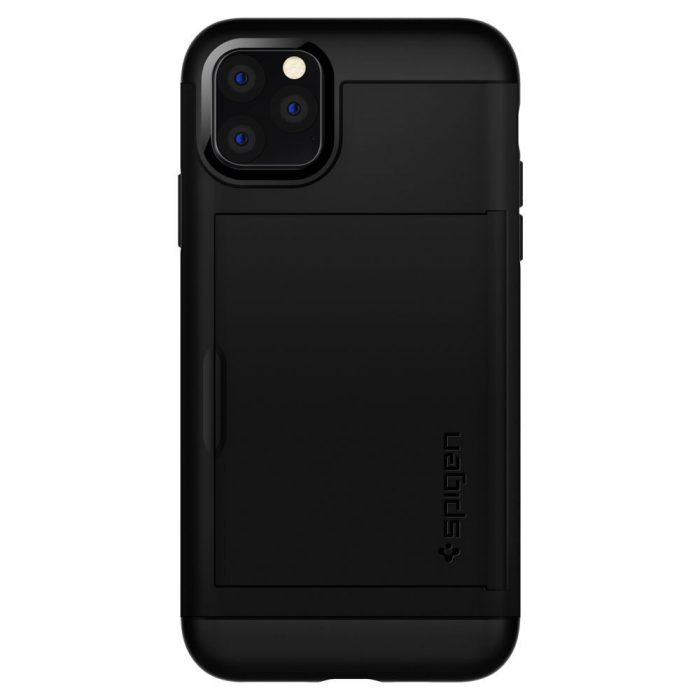 spigen slim armor cs apple iphone 11 pro max black - spigen 8809640259838 1