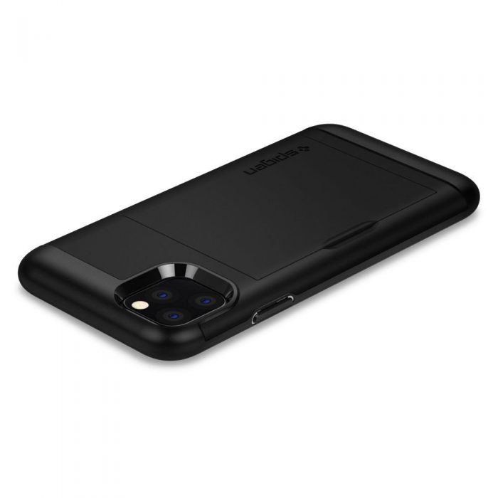 spigen slim armor cs apple iphone 11 pro max black - spigen 8809640259838 5