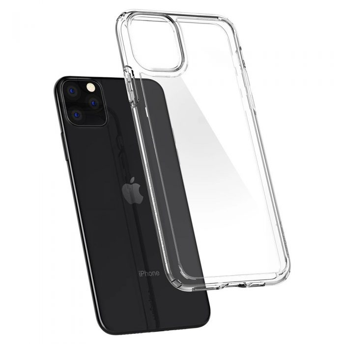 spigen ultra hybrid apple iphone 11 pro clear - spigen 8809671010781 2