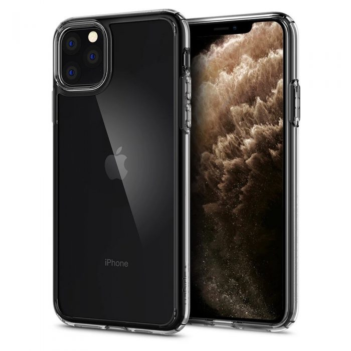 spigen ultra hybrid apple iphone 11 pro clear - spigen 8809671010781