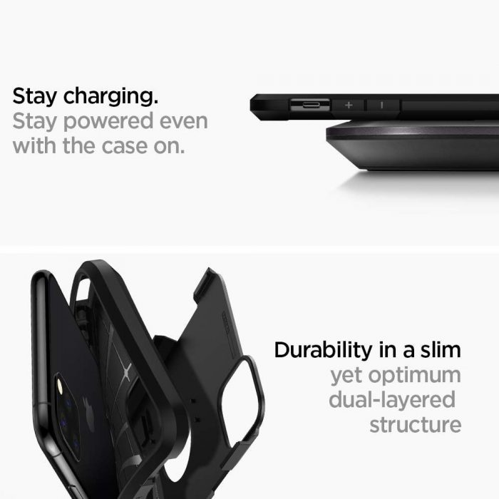 Spigen Tough Armor Apple iPhone 11 Pro Black - SPIGEN 8809671010859 5