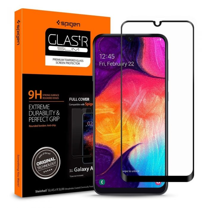 spigen glas.tr slim samsung galaxy a40 full cover case friendly - spigen 8809671011474 7