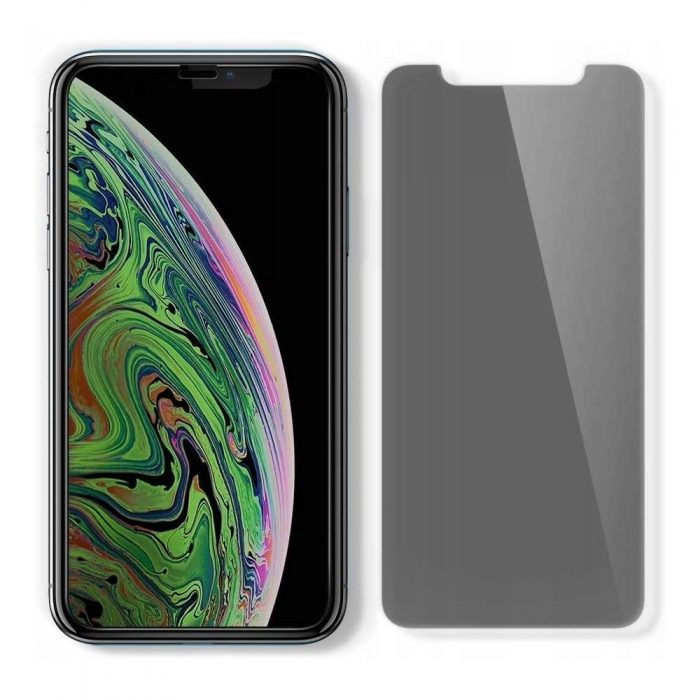 spigen glas.tr alignmaster apple iphone 11 pro max privacy - spigen 8809671018282 1