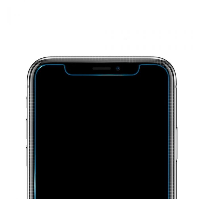 spigen glas.tr slim alignmaster apple iphone 11 pro case friendly 2 pack - spigen 8809671018428 5