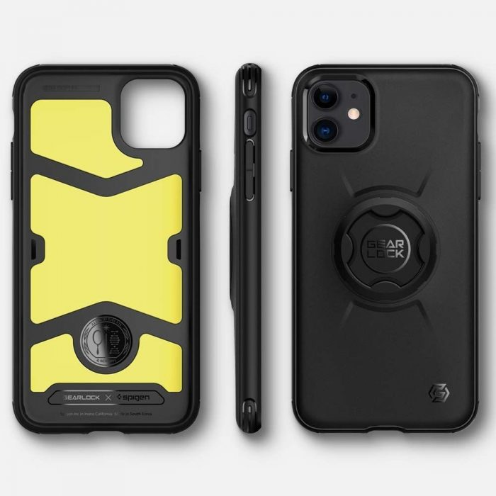 Spigen Gearlock GCF112 Bike Mount Case Apple iPhone 11 Black - SPIGEN 8809685620938 1