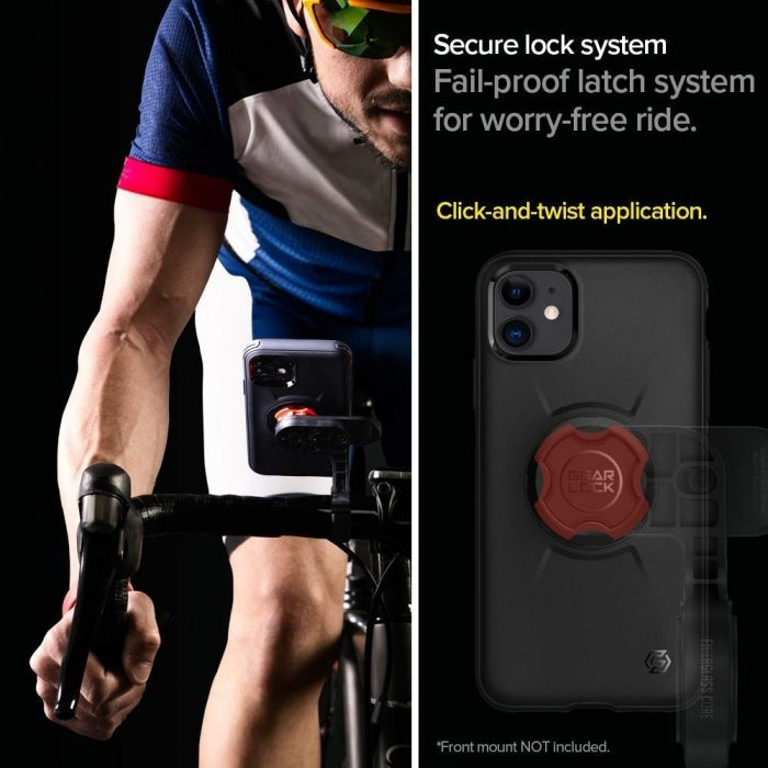Spigen Gearlock GCF112 Bike Mount Case Apple iPhone 11 Black - SPIGEN 8809685620938 2