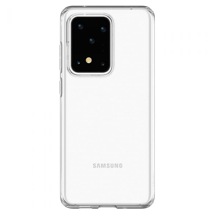 spigen liquid crystal galaxy s20 ultra crystal clear - spigen 8809685625728 3