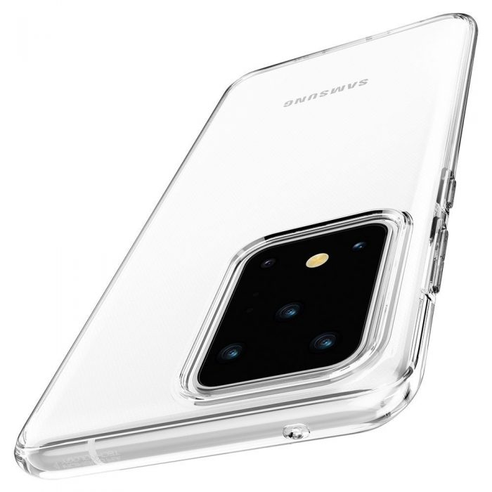 spigen liquid crystal galaxy s20 ultra crystal clear - spigen 8809685625728 6