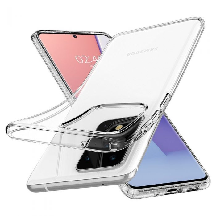 spigen liquid crystal galaxy s20 ultra crystal clear - spigen 8809685625728 7