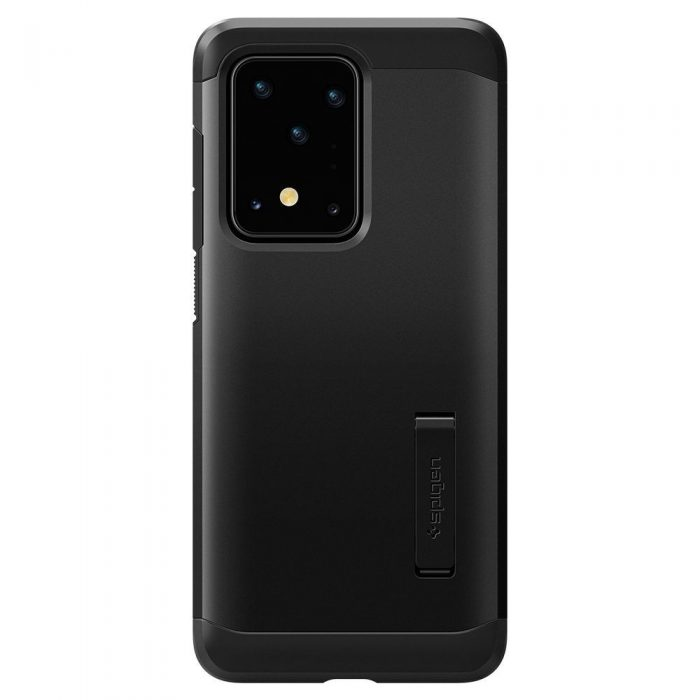 spigen tough armor galaxy s20 ultra black - spigen 8809685625797 1
