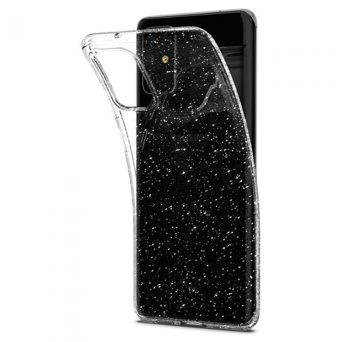 spigen liquid crystal galaxy s20+ plus glitter crystal - spigen 8809685626152 4