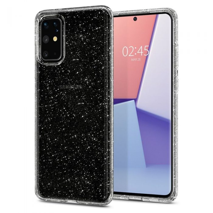 spigen liquid crystal galaxy s20+ plus glitter crystal - spigen 8809685626152