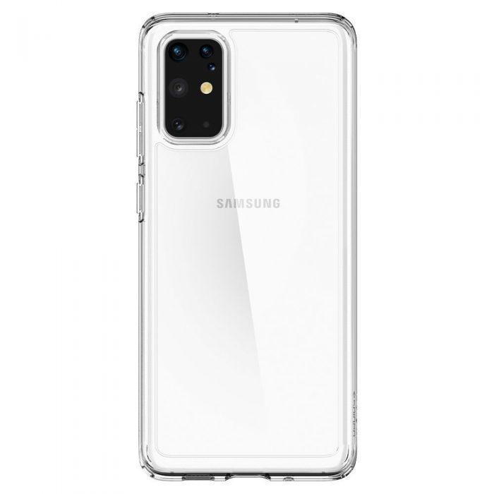 spigen ultra hybrid galaxy s20+ plus crystal clear - spigen 8809685626183 2