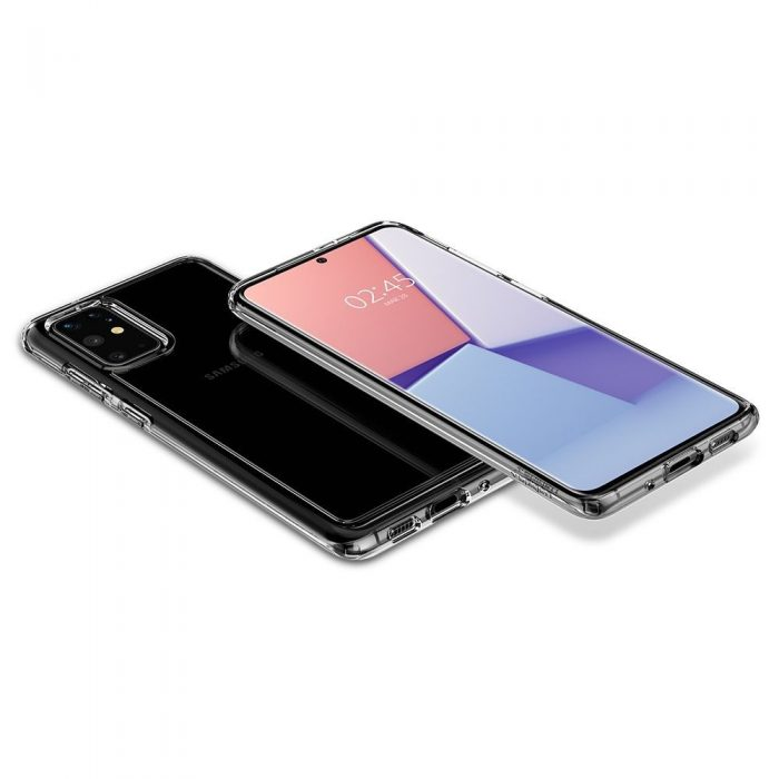 spigen ultra hybrid galaxy s20+ plus crystal clear - spigen 8809685626183 7