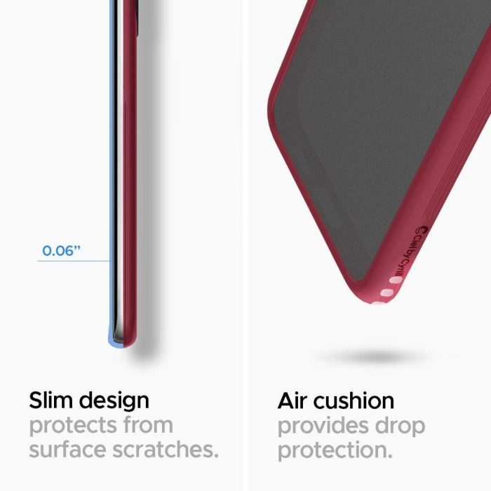spigen ciel color brick samsung galaxy s20+ plus burgundy - spigen 8809685626329 1