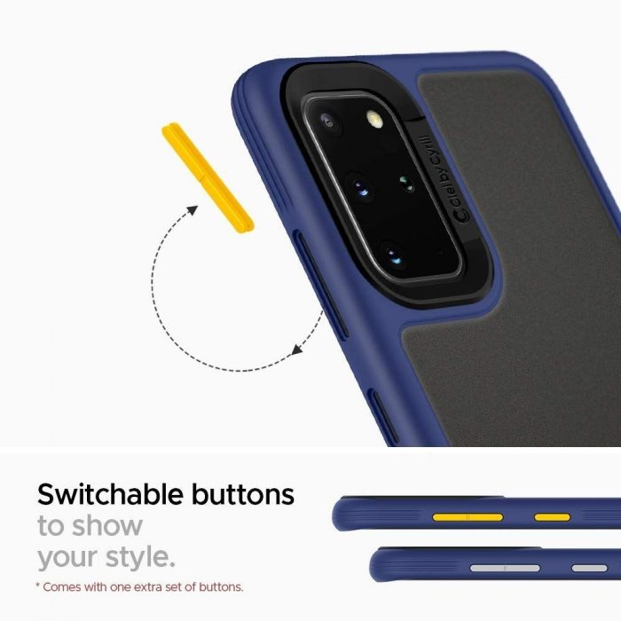 spigen ciel color brick samsung galaxy s20 navy - spigen 8809685626657 1