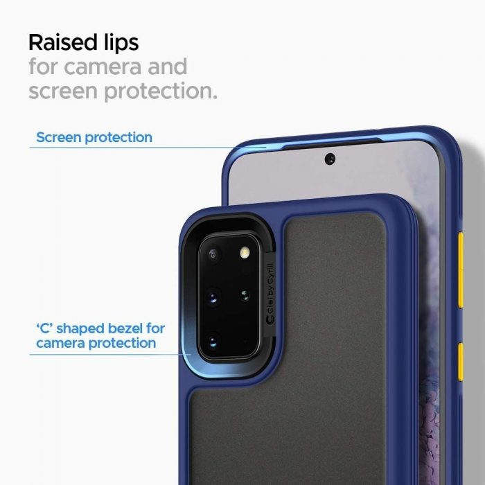 spigen ciel color brick samsung galaxy s20 navy - spigen 8809685626657 3