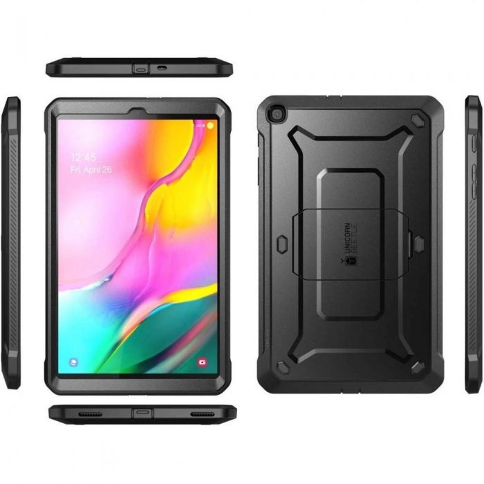 Supcase Unicorn Beetle Pro Galaxy Tab A 10.1 2019 T510/T515 Black - SUPCASE 843439110410 3 1