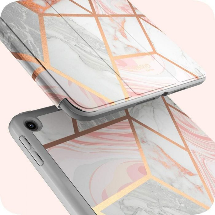 kryt supcase cosmo pencil apple ipad 10.2 2019 marble - supcase 843439127098 1