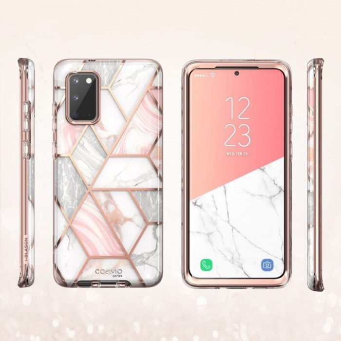 kryt supcase cosmo galaxy s20 marble - supcase 843439128880 2