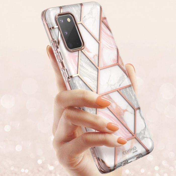 kryt supcase cosmo galaxy s20 marble - supcase 843439128880 3