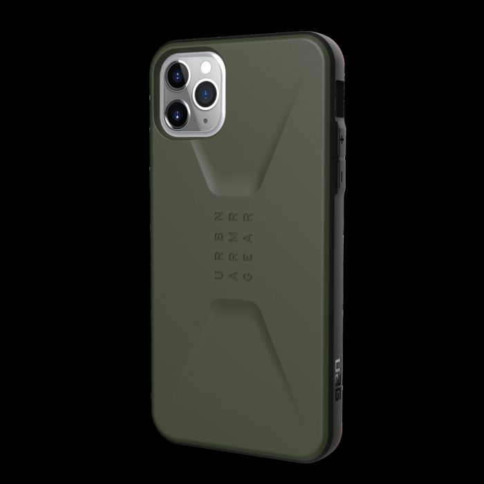 kryt uag urban armor gear civilian apple iphone 11 pro max (olive drab) - urban armor gear 812451032994 2