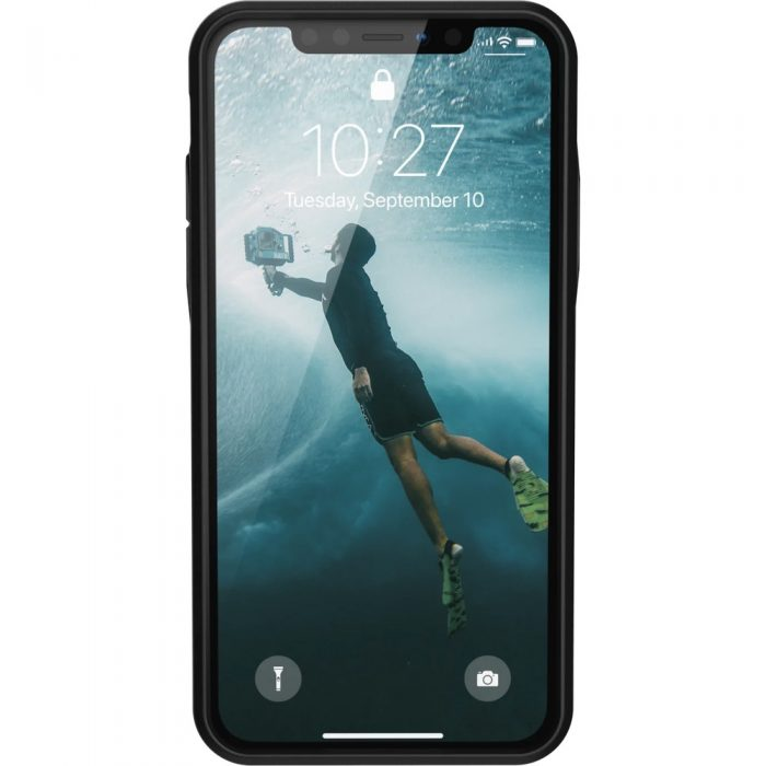 kryt uag urban armor gear outback bio apple iphone 11 pro max (čierna) - urban armor gear 81245103424 3